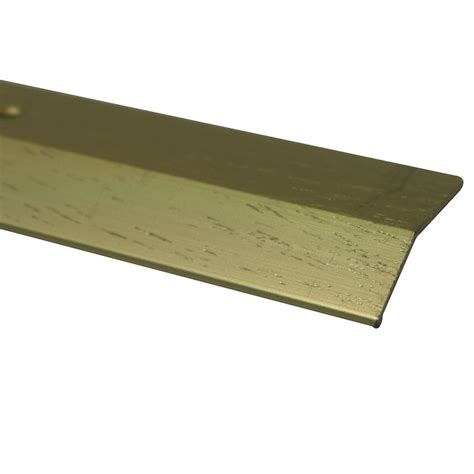 shur trim equalizer floor moulding hammered gold 1 1 2