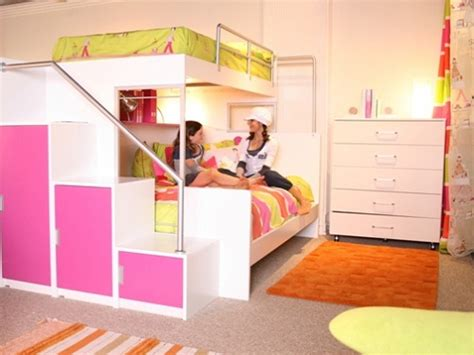 girl bunk beds with slide loft beds for girls with slide www imgkid com the