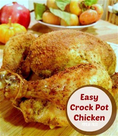 easy crock pot chicken