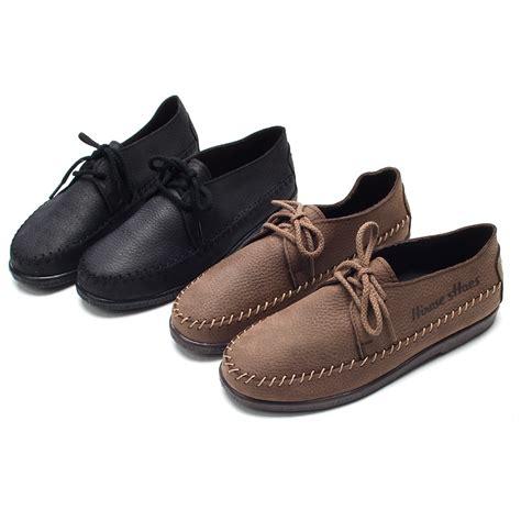 unique mens boots mens unique stitch brown cow leather rubber sole