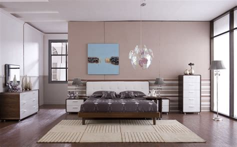 china walnut and white high glossy bed room furniture