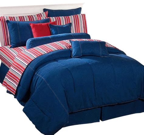 denim comforter king american denim comforter king contemporary comforters