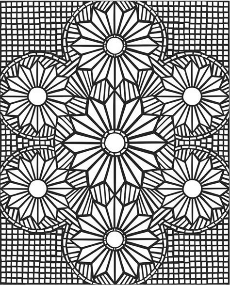 mosaic coloring pages mosaic patterns coloring pages