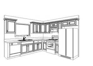 How To Design Kitchen Cabinets Layout Images About 2d And 3d Floor Plan Design On Free Plans Create Facade Idolza