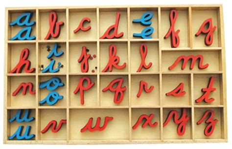 montessori printable moveable alphabet montessori materials small movable alphabet cursive w out box
