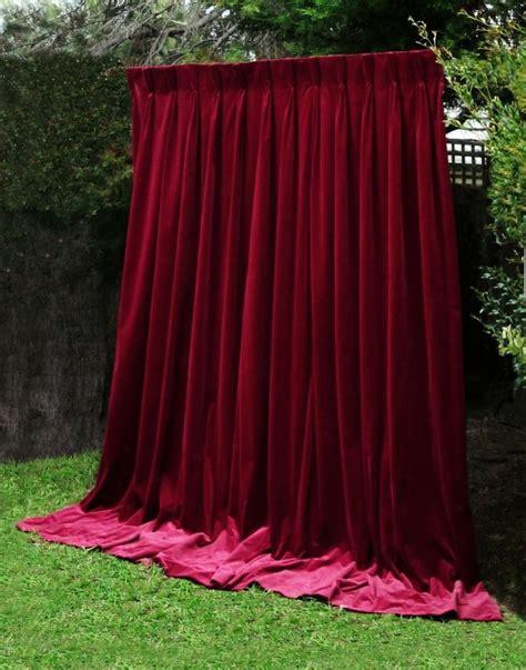 thick red curtains best 25 velvet curtains ideas on pinterest velvet