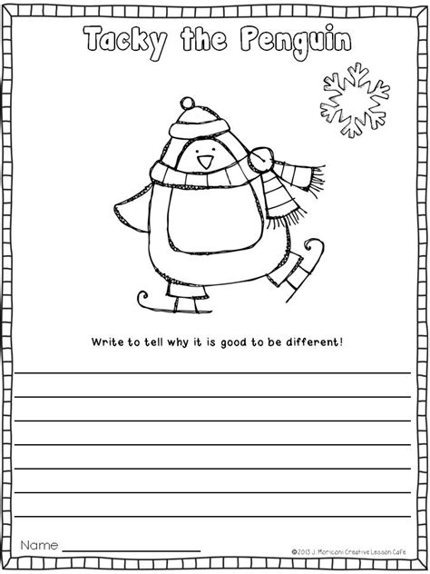 Tacky The Penguin Coloring Pages Tacky The Penguin Coloring Page Az Coloring Pages