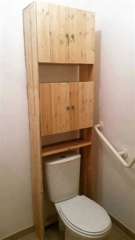 Compact Bathroom creative wood pallet projects you can do it yourself
