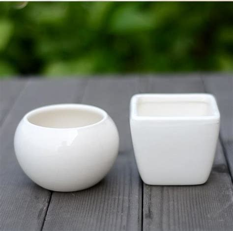 White Plant Containers Shop Popular Ceramic Plant Pots From China Aliexpress