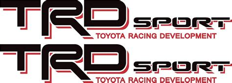 Toyota Road Decals Toyota Trd Road Sport 4x4 Tundra Tacoma Truck Decal