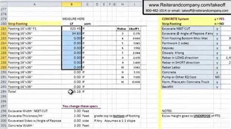 construction estimate estimating spreadsheets free onlyagame