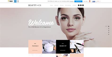 One Page Website Template Wix New Wix Templates Our Verdict Top 5 Website Builders