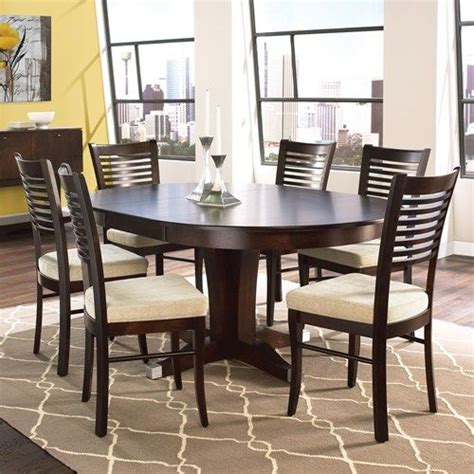canadel custom dining customizable round table with leaf