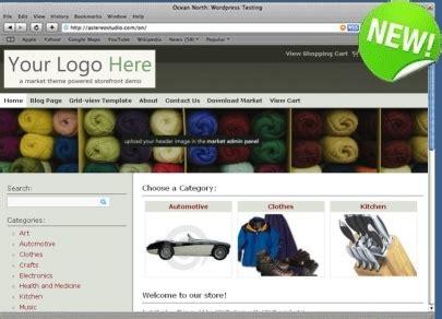 themes wordpress shopping cart free wordpress shopping cart wordpress ecommerce market theme