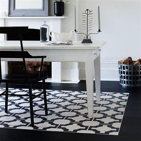 dining room carpet ideas dining room with black and dining room with black and white rug effect flooring