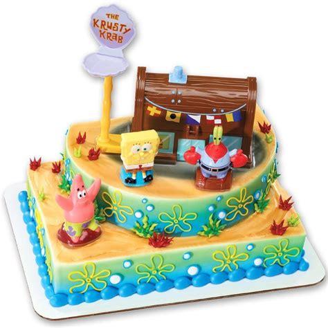 Cake Decorating Kit by Spongebob Cake Decorating Kit Topper Ebay