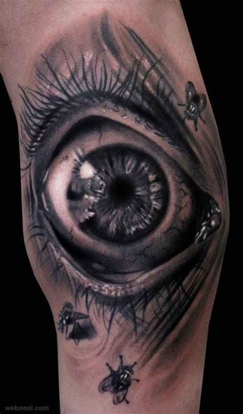 3d tattoo eye hand 10