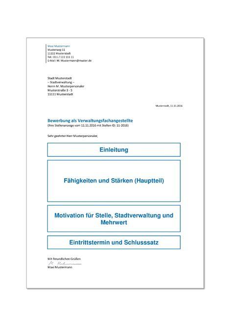 Anschreiben Bewerbung Ausbildung Verwaltungsfachangestellter Artikelmerkmale Ausbildung Verwaltungsfachangestellter