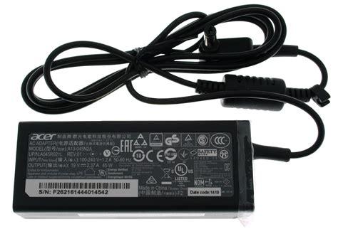 Adaptor Acer Original 19v 2 37a original acer netzteil ladeger 228 t 19v 2 37a 45w m