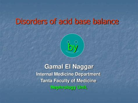 Ppt Disorders Of Acid Base Balance Powerpoint Ppt Of Acid