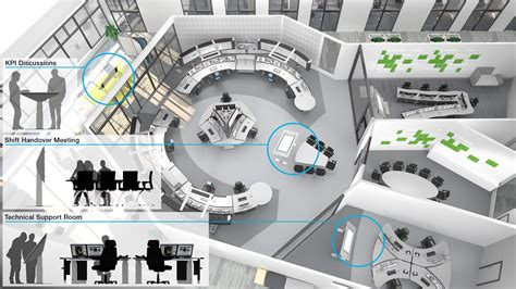 Room Design Floor Plan by Collaborative Touchscreen Table For 24 7 Control Rooms Abb