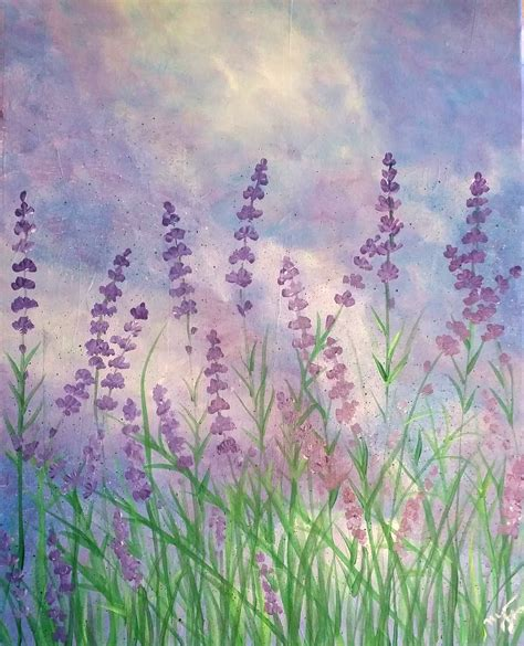 lavendar paint spring creek coffee house lavender bliss sunday