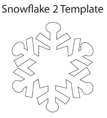 printable christmas decorations snowflakes snowflake ornament tutorial google images ornament