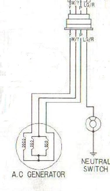 Simplest Possible Wiring For Cb 200