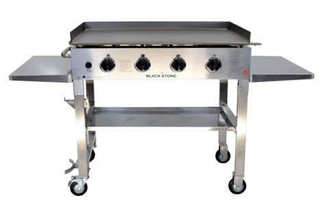 backyard griddle blackstone 36 stainless steel outdoor griddle stainless steel grill