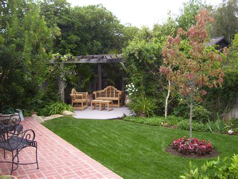 Backyard Landscaping Ideas Santa Barbara Down To Earth Back Yard Landscaping With Garden