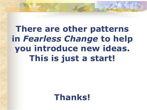 what pattern of organization describes a shift in time fearless change myths and patterns of organizational