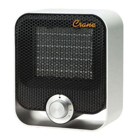 Home Depot Small Portable Heaters Crane 1200 Watt Compact Design Ceramic Space Heater
