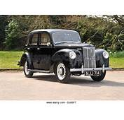 1950s Ford Prefect Small Classic British Family Car  Stock Image