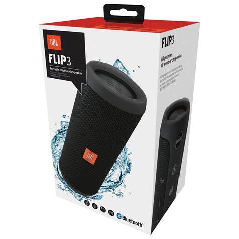 Jbl Flip Iii Black caixa de som bluetooth jbl flip3
