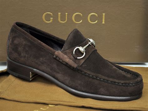 gucci loafers ebay gucci mens shoes classic suede bit loafer 015938 12170