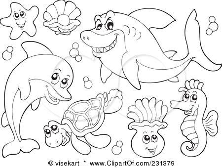 coloring pictures of animals in the sea vector animals animals coloring pages free
