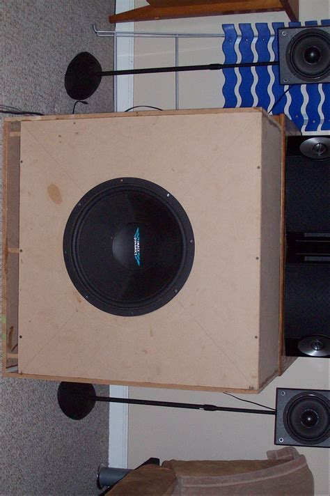 home theater subwoofer enclosure page