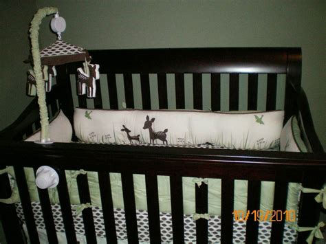 Kidsline Willow Deer Crib Bedding Set Organic Cotton Ebay Willow Organic Baby Crib Bedding By Kidsline