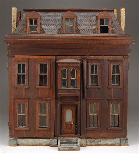 wood doll house dioramas and clever things antique dollhouses made from wood