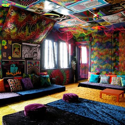 trippy room decor 15 creative ways in hippie home decor ward log homes