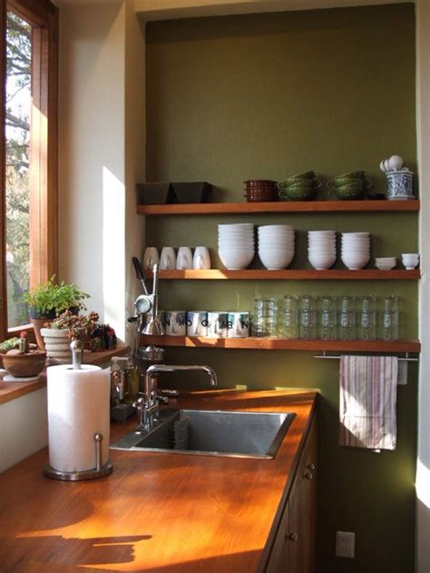 Kitchens With Shelves Green | all eyes on olive for autumn by kimberly duran the oak