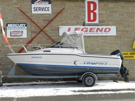 used trophy boats ontario bayliner 2002 trophy walkaround 1991 used boat for sale in