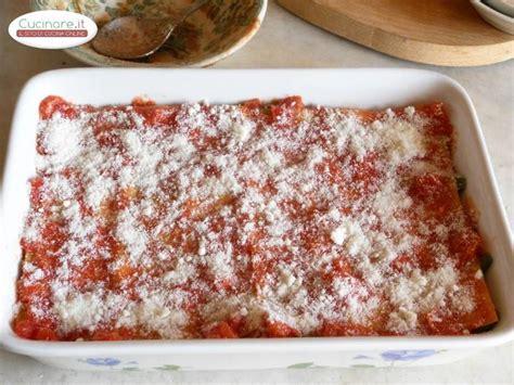 cucinare la lasagna lasagne con piattoni cucinare it