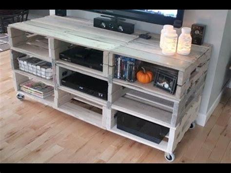 sideboard aus europaletten tv tisch aus europaletten tv tisch selber bauen