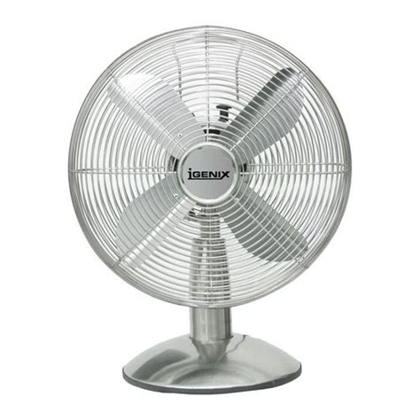 Office Desk Fans 12 Inch Retro Desk Fan Chrome Fans Environmental Premises