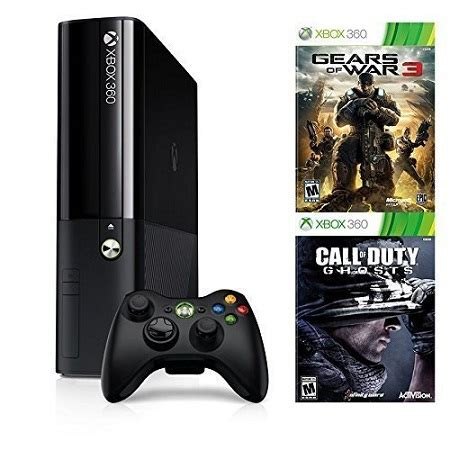 xbox 360 gears of war console microsoft xbox 360 e 500gb console bundle with gears of
