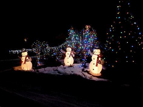 christmas lights in yakima 2 acre meadow yakima lights