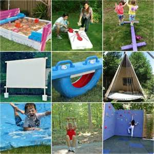20 awesome diy outdoor play equipment for kids