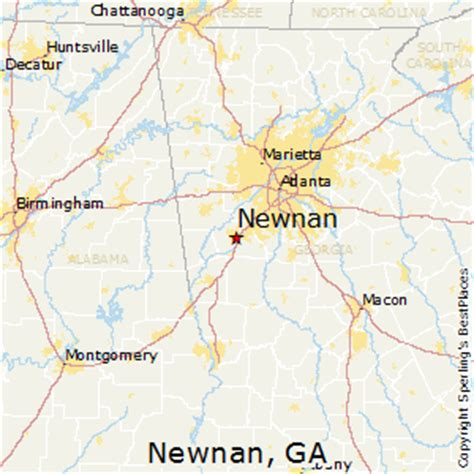 best places to live in newnan