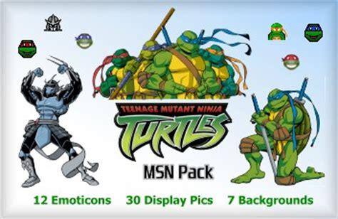 sherv net new simpsons msn pack msn emoticons display pics sherv net ninja turtles msn pack